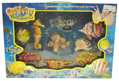 GIFT BOX OF EIGHT 3D TROPICAL FISH PUZZL