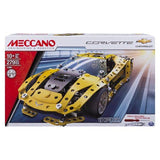 Meccano Chevrolet Corvette Vehicle Model Building Set