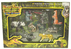 GIFT BOX OF EIGHT 3D JUNGLE CREATURE PUZ