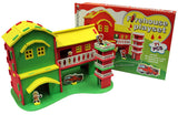 71 PIECE EVA FIREHOUSE PLAY SET