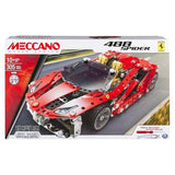 Meccano Ferrari 488 Spider Vehicle Model Building Set