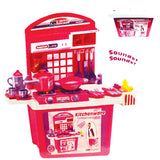 KITCHEN PLAY SET WITH SOUNDS (B/O)