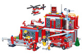 BANBAO FIRE STATION 702 PIECE (8311)