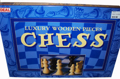 WOODEN FAMILY CHESS GAME