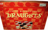 WOODEN DRAUGHTS BOARD GAME