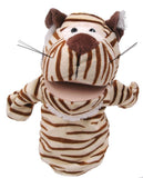 JUNGLE ANIMAL HAND PUPPET TIGER