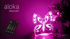 Aloka Sleepylights - Butterfly