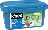 k'nex 50 model set 417 pieces