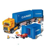 Cargo Truck Set Banbao Blocks 8763