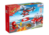 BANBAO FIRE FIGHTING SET 108 PIECE (8129)