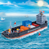 BANBAO CARGO SHIP 716 PIECE (8767)