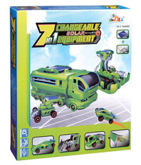7 in 1 changeable solar equipment