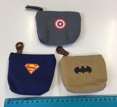 Boys coin purse wallet captain america