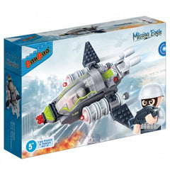 BANBAO MISSION EAGLE AIR FIGHTER 155 PIECE (6213)