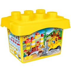 YO - CONSTRUCTION SET BUCKET 71 PIECE (9668)