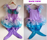 GIRLS SPARKLING MERMAID COSTUME