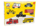 Le Toy Van - New York Car set