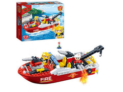 BANBAO FIRE BOAT 198 PIECE SET (7105)