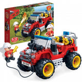 BANBAO FIRE JEEP 148 PIECE (7106)
