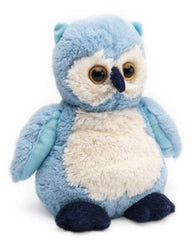 COZY PLUSH BLUE OWL - BED WARMER