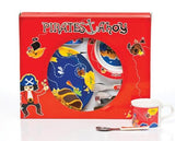 Pirate Ahoy 6 piece Melamine Dinner Set