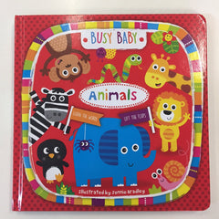 Animals flap book
