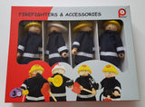 Wooden Firefighters and Accessories
