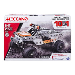 Meccano 10 in 1 Model Race Truck Kit