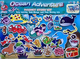 MAGNETIC STORY BOARD - OCEAN ADVENTURES