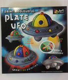 Paint a Colourful Plate UFO