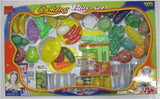 PLAY FOOD & COOKING SET