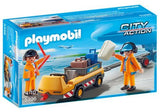 Playmobil City Action 5396 Aircraft Tug with Ground Crew