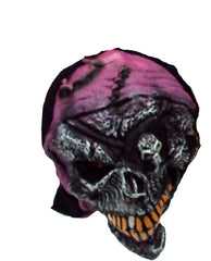 SCARY MASK - PURPLE HAT