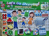 MAGNETIC STORY BOARD - LET'S GO SHOPPING