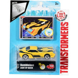Transformers DC Light Up Racers Bumblebee