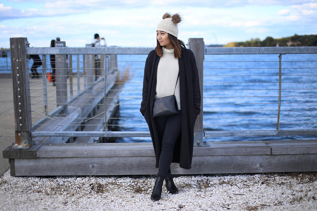 Feature of Our Beige 'Minnie' Beanie on Styled & Smitten
