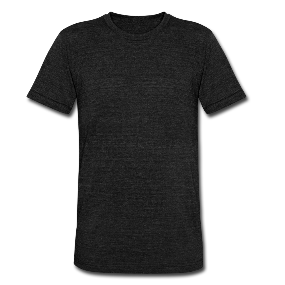 Unisex Tri-Blend T-Shirt by Bella & Canvas - heather black
