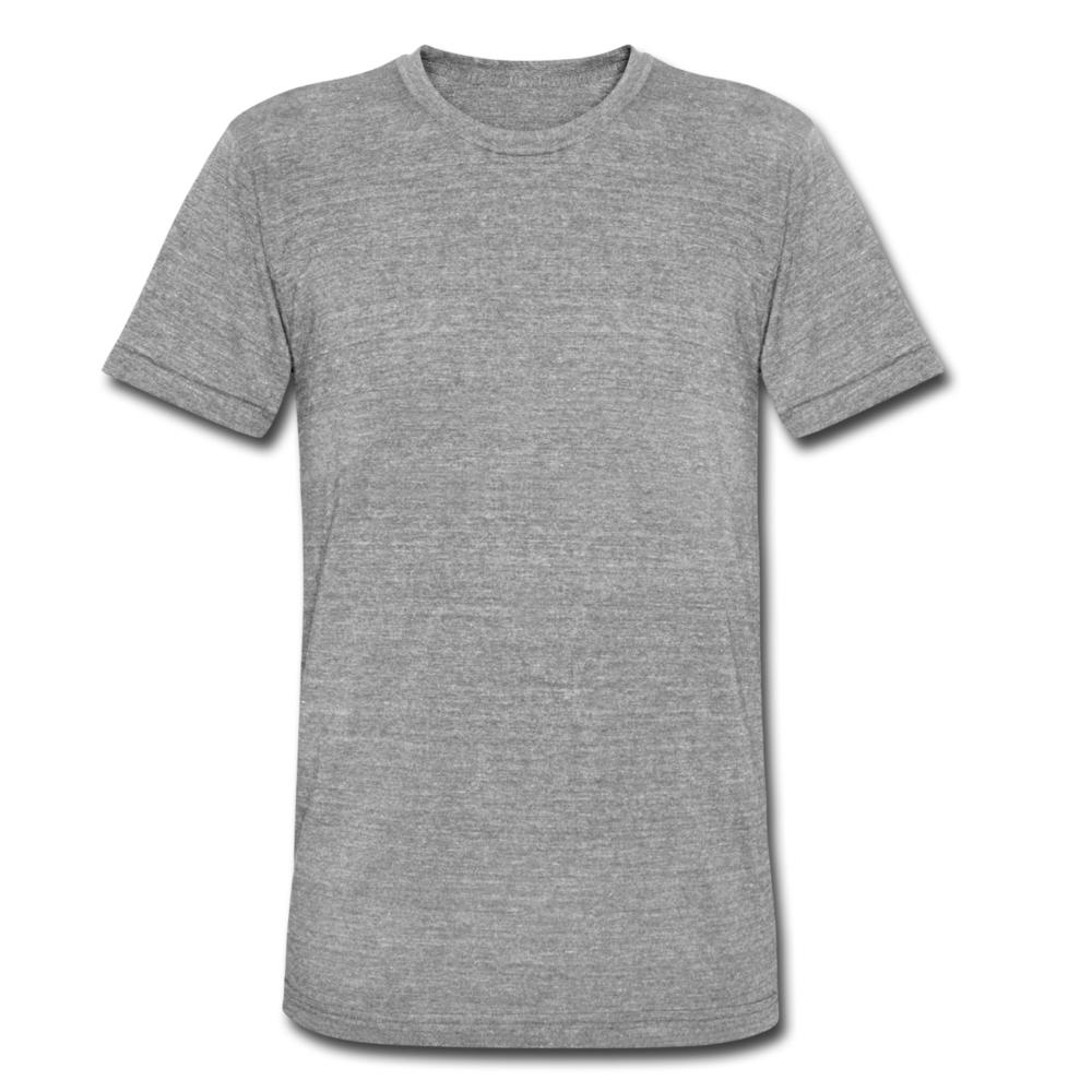 Unisex Tri-Blend T-Shirt by Bella & Canvas - heather grey
