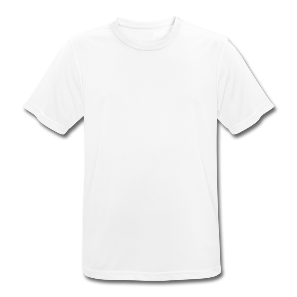 Men's Breathable T-Shirt - white