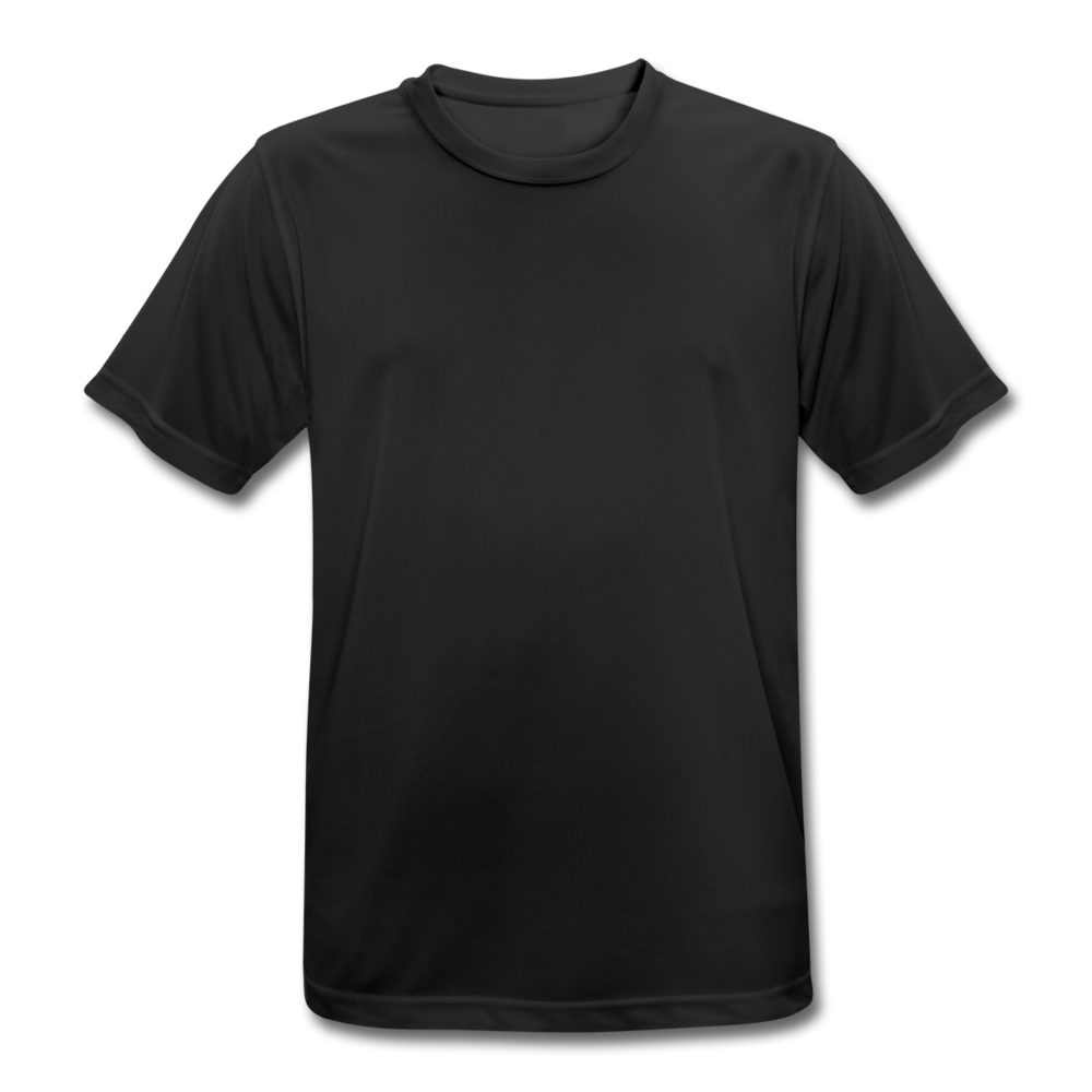 Men's Breathable T-Shirt - black