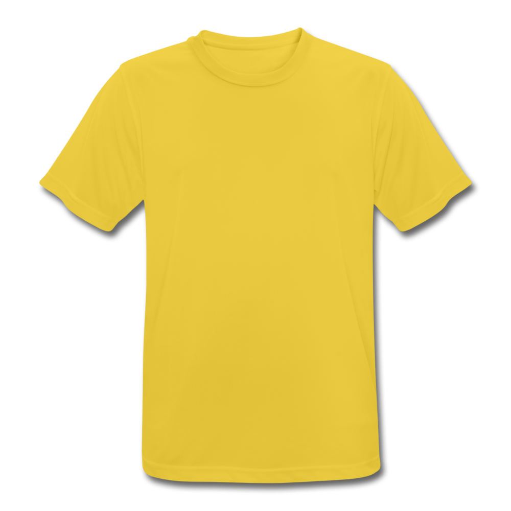 Men's Breathable T-Shirt - sunshine