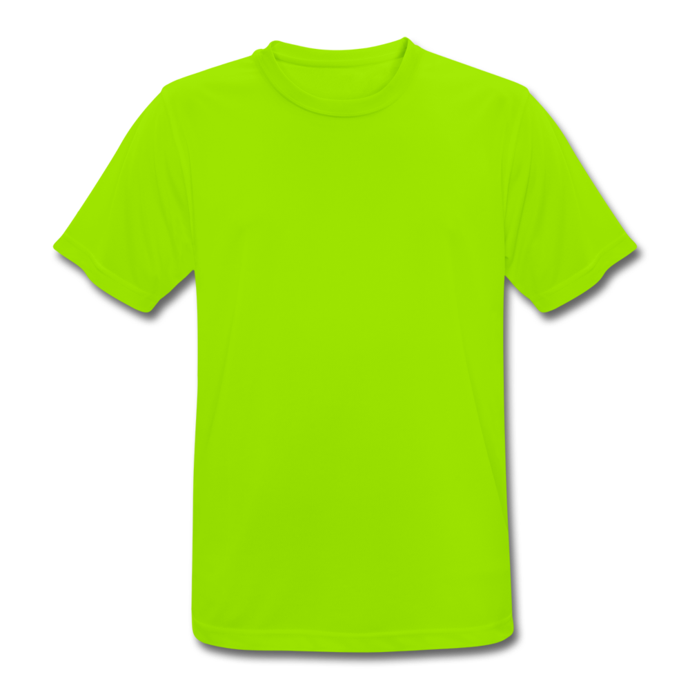 Men's Breathable T-Shirt - neon green