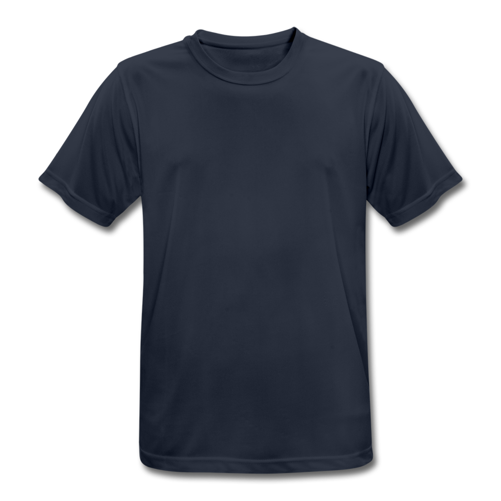 Men's Breathable T-Shirt - dark navy