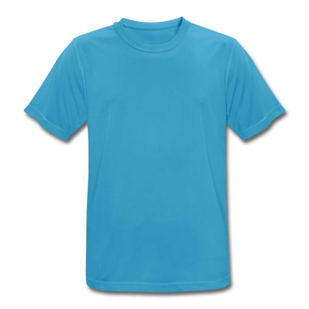 Men's Breathable T-Shirt - sapphire blue