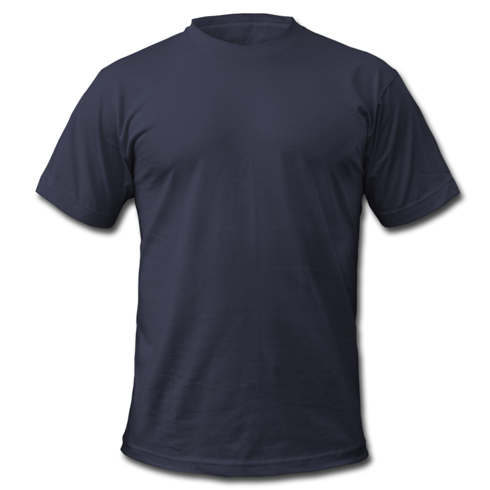 Men's T-Shirt Bella + Canvas - navy