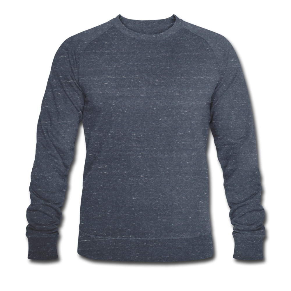 Men's Organic Sweatshirt by Stanley & Stella - heather navy