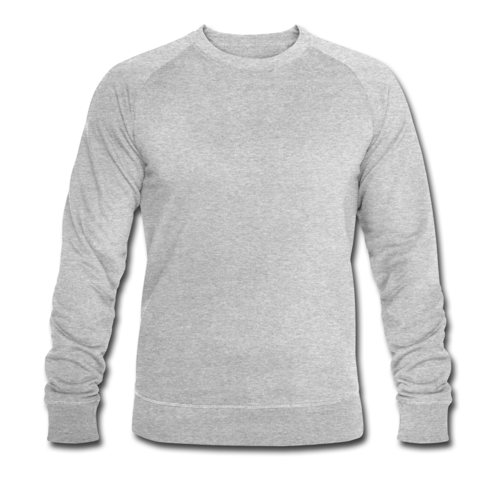 Men's Organic Sweatshirt by Stanley & Stella - heather grey