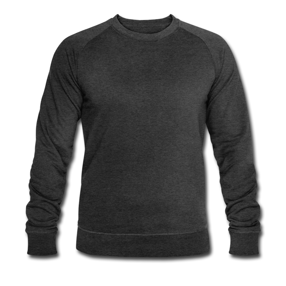 Men's Organic Sweatshirt by Stanley & Stella - dark grey heather