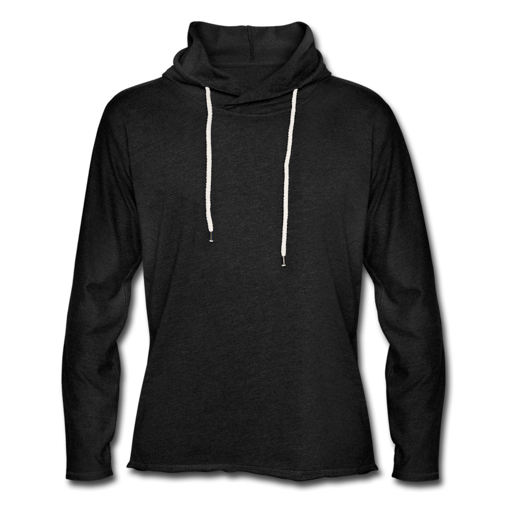 Light Unisex Sweatshirt Hoodie - charcoal grey