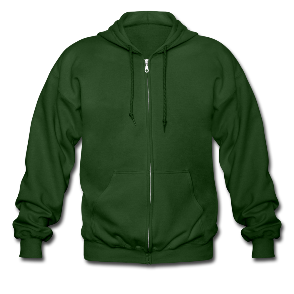 Men's Heavyweight Hooded Jacket - forrest